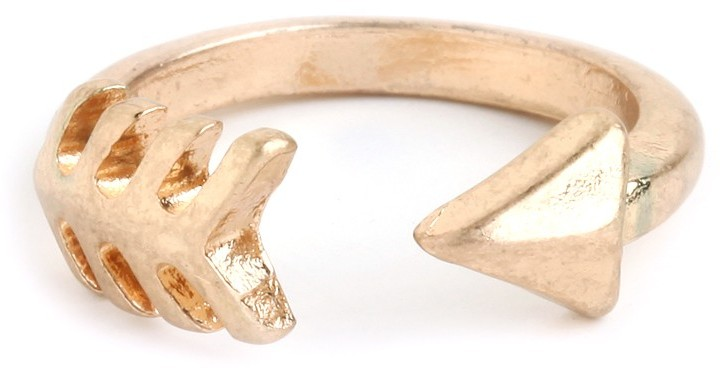 BaubleBar Gold Arrow Ring