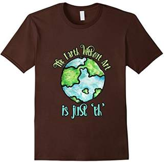 DAY Birger et Mikkelsen The Earth without Art is just EH shirt Earth t-shirt