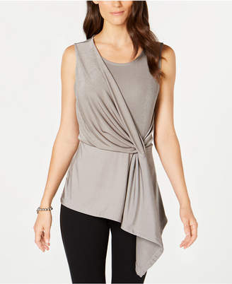 Alfani Metallic Twist Tank