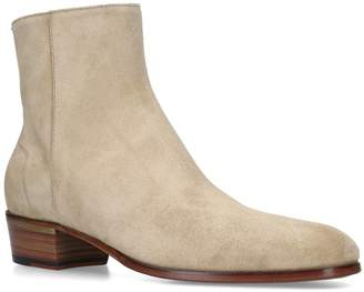 Dunhill Suede Duke Boots