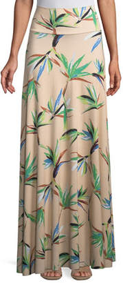Rachel Pally Long Full Paradise Printed Skirt, Plus Size