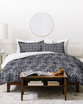 Deny Designs Dash And Ash Stars Above At Midnight Duvet Cover S Set