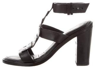 Rag & Bone Leather Ankle-Strap Sandals