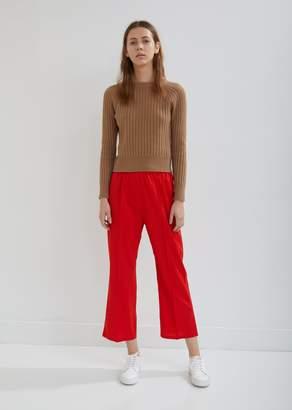 Sofie D'hoore Pica Elastic Waist Cropped Pants