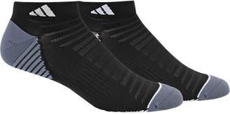 adidas Men 2 Pack Speed Mesh ClimaLite Low-Cut Socks