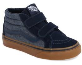 Infant Boy's Vans Sk8-Mid Reissue V Sneaker $39.95 thestylecure.com