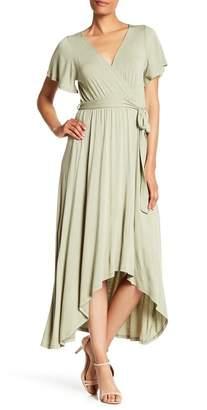 5e01a3c39071 WEST KEI Hi-Lo Knit Wrap Dress