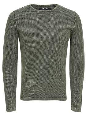 ONLY & SONS Detailed-Knit Sweater