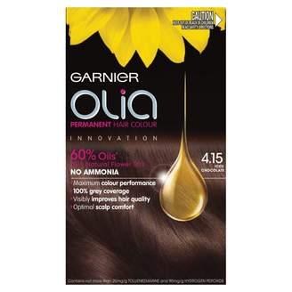 Garnier Olia Permanent Hair Colour 4.15 Iced Chocolate 1 pack