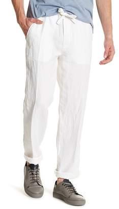 Toscano Drawstring Linen Pants