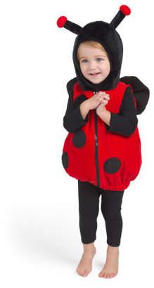 Baby Ladybug Plush Bubble Costume
