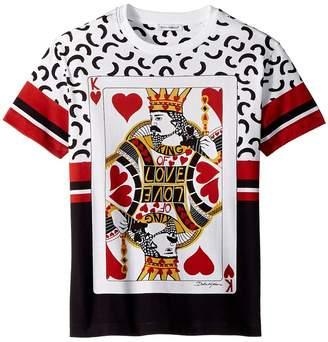 Dolce & Gabbana King of Hearts T-Shirt Boy's T Shirt