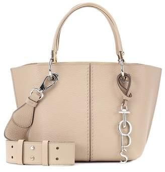 Tod's New Joy Mini 2 Rings leather shoulder bag