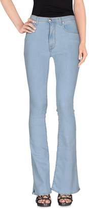 (+) People + PEOPLE Denim pants - Item 42541772NX
