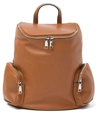 Simona Persaman New York Leather Backpack