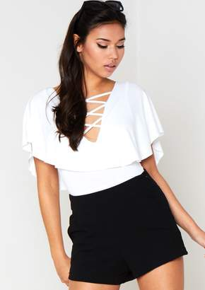 Missy Empire Missyempire Talulah Black High Waisted Shorts