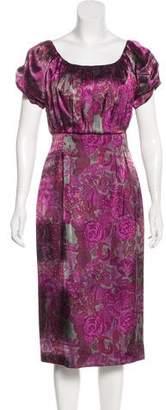 Philosophy di Alberta Ferretti Printed Midi Dress