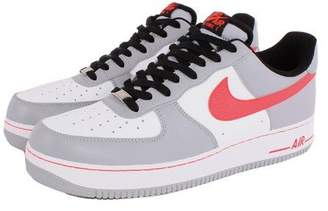 Jordan Nike Kids Air 1 Mid BG White/Cool Grey/White Basketball Shoe 7 Kids US