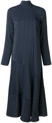 Ganni Lynch seersucker dress