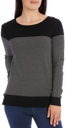 Long Sleeve Stripe Jumper