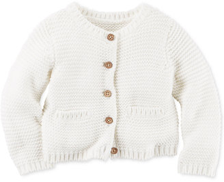 Carter's Baby Girls' Button-Front Cardigan $12.98 thestylecure.com
