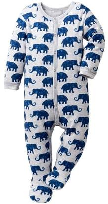 Coccoli Elephant Print Footie (Baby)