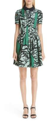 Valentino Tiger Re-Edition Fit & Flare Dress