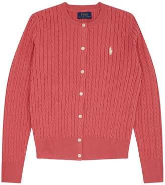 Polo Ralph Lauren Cotton Cable-Knit Cardigan