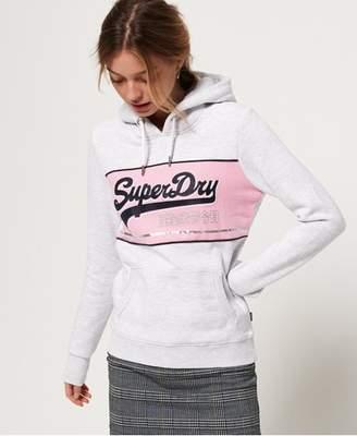 Superdry Vintage Logo Colour Block Hoodie