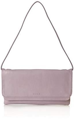 Esprit 117ea1o047, Women's Clutch, Violett (Dark Mauve), 2x15x28 cm (B x H T)