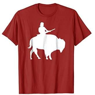 Buffalo David Bitton Guy on a T-shirt