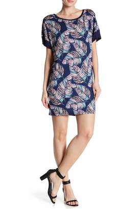 24/7 Comfort Tropical Oversized Short Dress (Plus Size Available)