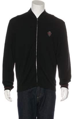 Gucci Wool Crest Appliqué Sweater