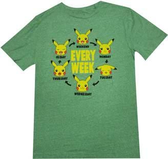 Pokemon Pika Week Kelly Adult T-Shirt