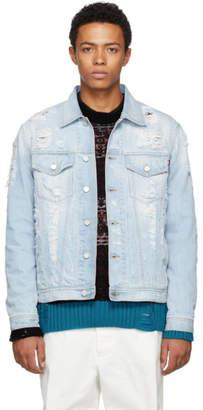 Diesel Blue D-Hill Denim Jacket