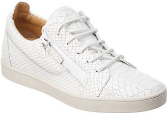Giuseppe Zanotti Dilan Low-Top Leather Sneaker
