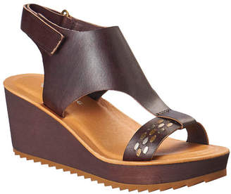 Antelope 517 Leather Wedge Sandal