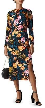 Whistles Bella Digital Bloom Dress