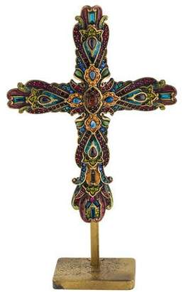 Jay Strongwater Embellished Cross Figurine