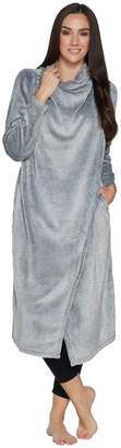 Anybody AnyBody Loungewear Frosted Fleece Cascade Front Maxi Cardi