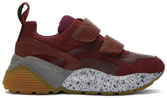 Stella McCartney Burgundy Eclypse Sneakers