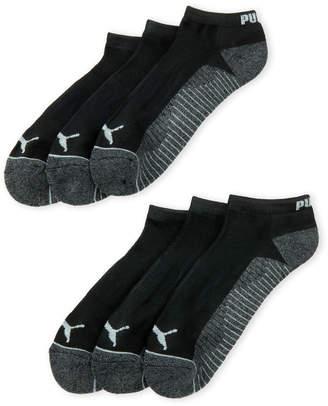 Puma 6-Pack Cushioned Low-Cut Socks