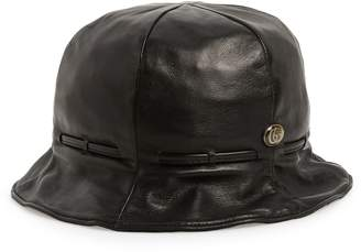 Gucci Leather Bucket Hat