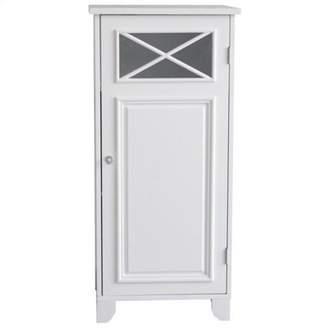 Elegant Home Fashions Dawson 1-Door Floor Cabinet in White