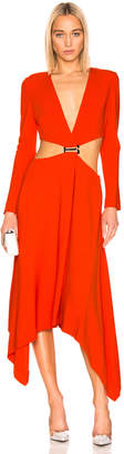 Dion Lee Modular Dress in Vermillion   FWRD