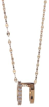 Lana 14K Yellow Gold Pave Diamond Pendant Necklace - 0.40 ctw
