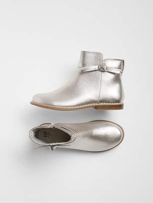 Gap Metallic Bow Boot