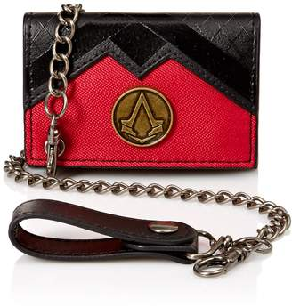 Bioworld Men's Assassins Creed Pu Chain Wallet