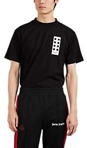 """Palm Angels 8 MONCLER Men's """"Make It Rain"""" Cotton T-Shirt - Black"""