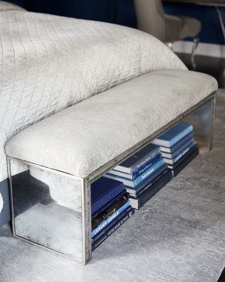 John-Richard Collection John Richard Collection Jacory Eglomise Bench